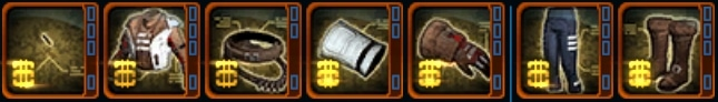 SWTOR 6.1.3 Winter Outlaw's Armor Set Icons