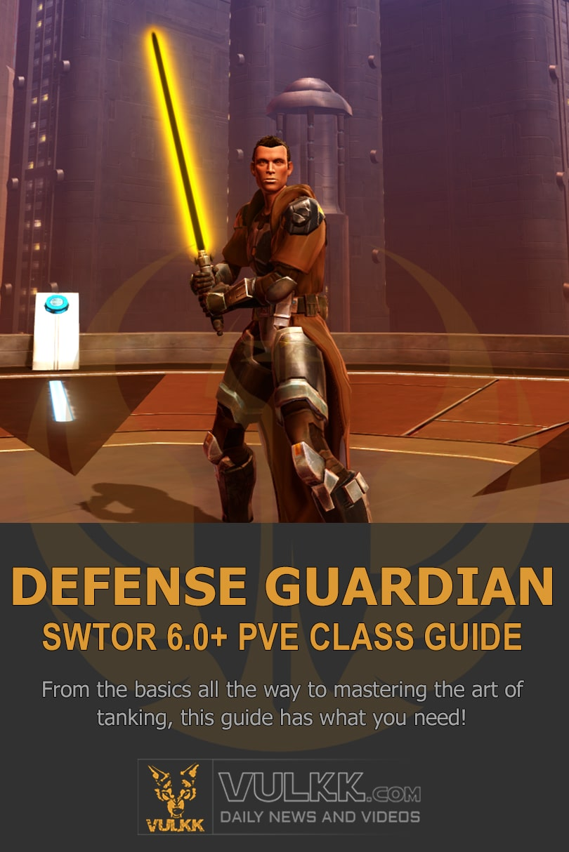 SWTOR Defense Guardian PvE Tank 6.0 Guide