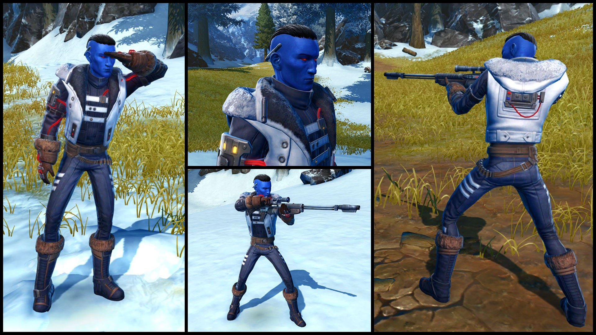 SWTOR 6.1.3 Winter Outlaw Armor Set