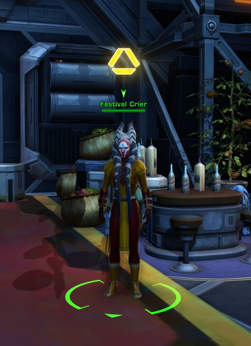 SWTOR Feast of Prosperity event starter mission