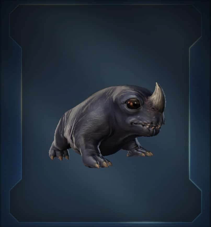Hairless Mudhorn Mini-Pet