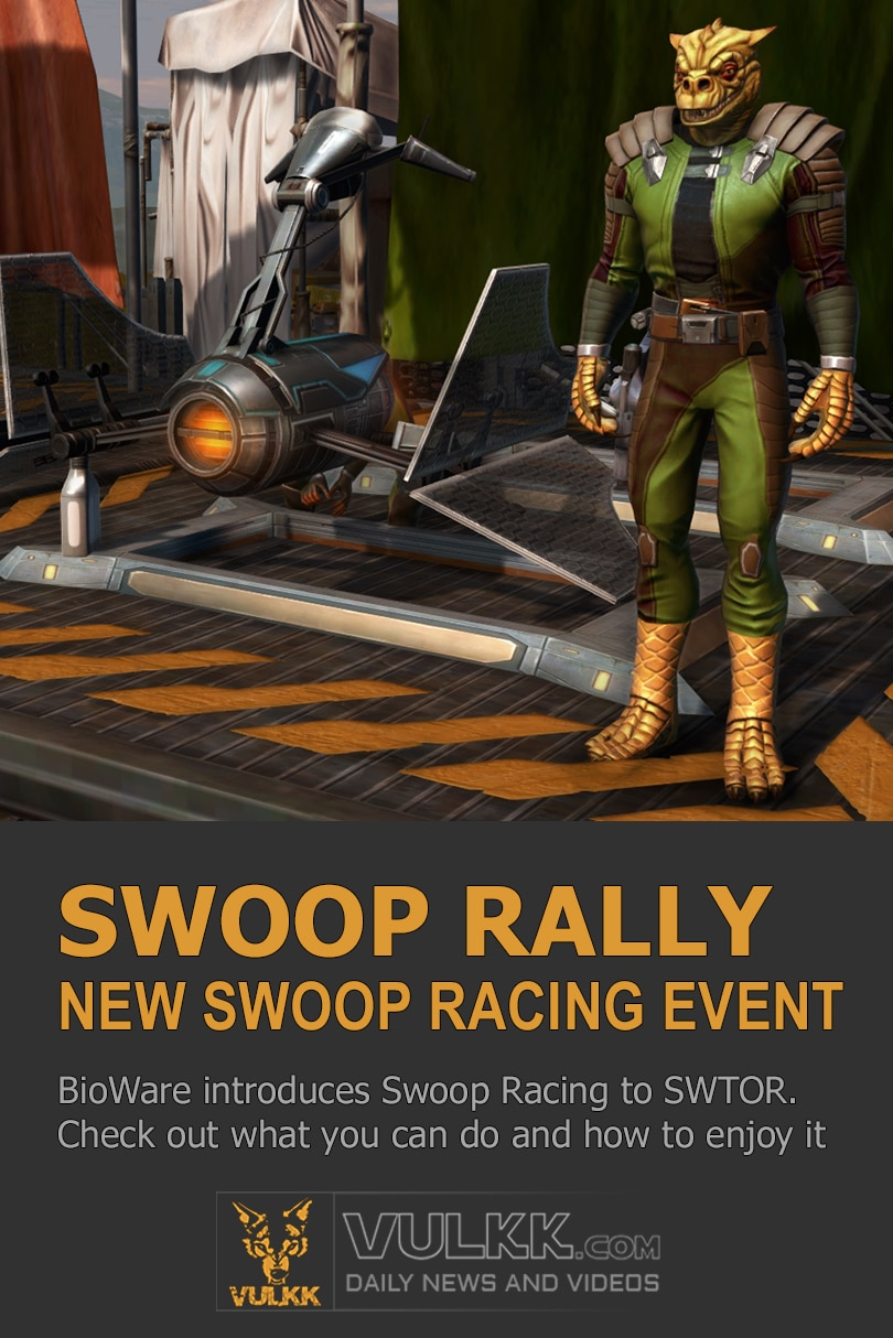SWTOR Swoop Racing Event finally coming to the game