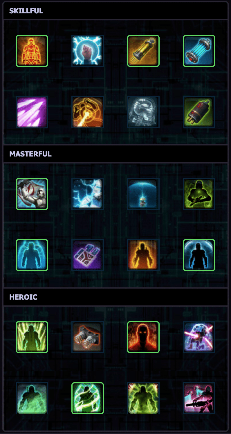 SWTOR Combat Medic Healing Commando PvP Guide - Strong Mobility Utilities Build