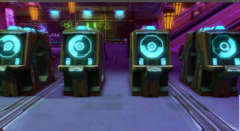 SWTOR Nightlife Event Guide - Green Slots (Smuggler's Luck)
