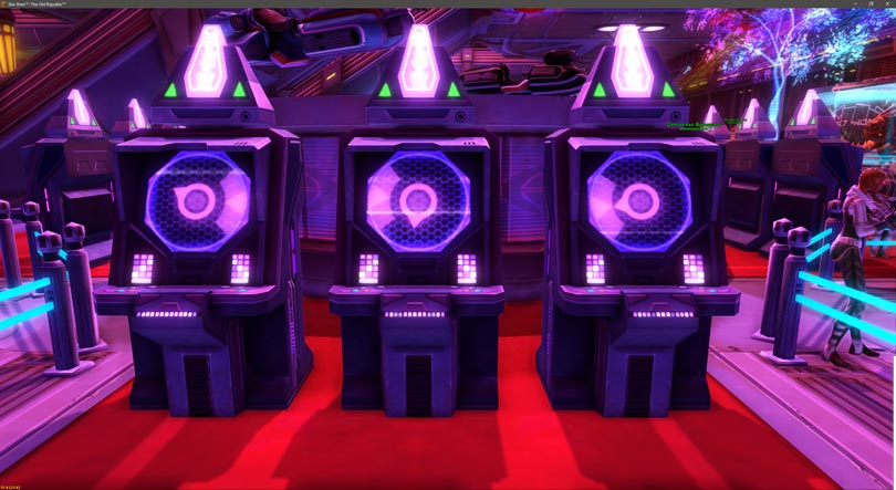 SWTOR Nightlife Event Guide - Purple Slots (Kingpin's Bounty)